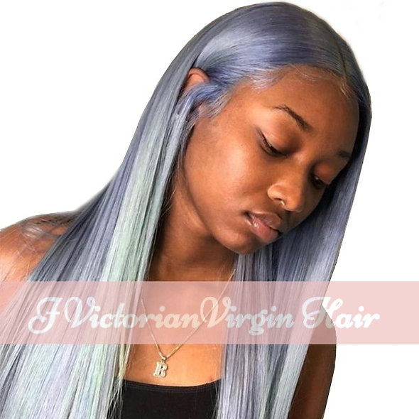Grey Lace Wig Lace Part Wig