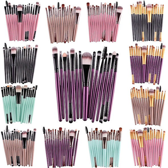 15 PCS Brush Set