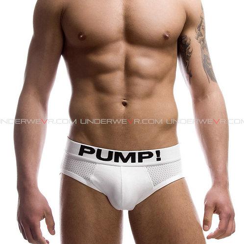 PUMP! - Men's Briefs Classic Pure Cotton Hip Brief Underwear PUB061