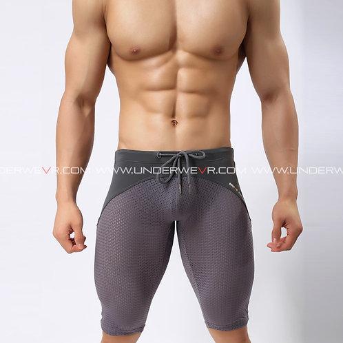 BRAVE PERSON - Men's Briefs Micro-Mesh Full-Modal Patches Long Boxer BR2240