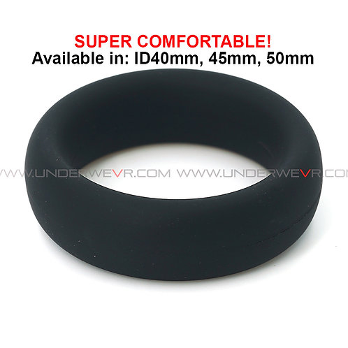 CR61 Silicone Rubber Thick Donut Cockring