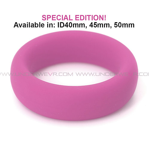 CR62 Silicone Rubber Thick Donut Cockring Special Edition