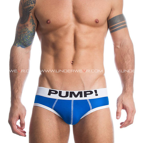 PUMP! - Men's Briefs Classic Pure Cotton Hip Brief Underwear PUB065