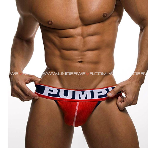 PUMP! - Men's Jockstraps FEVER Micro-Mesh Touchdown Sports Underwear PUJ377