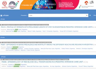 Trabajos de SATI-Q en el Congreso #WFPICCS20