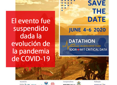 Evento suspendido: Datathon en Río de Janeiro