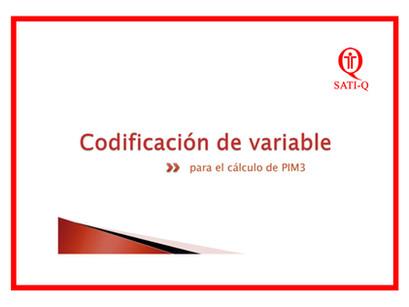 Lineamientos de Construcción de PIM 3 (Índice Pediátrico de Mortalidad 3)