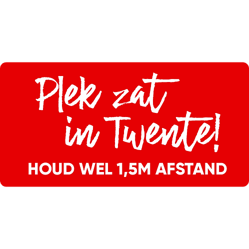 Plek zat in Twente