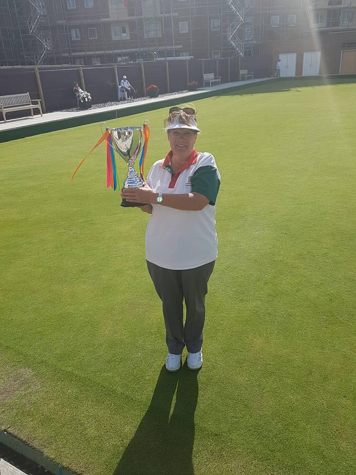 Ladies 2 wood singles champion 2017