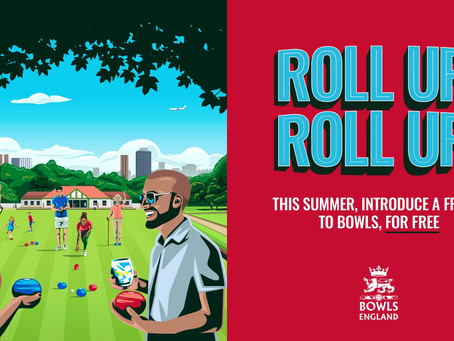 Bowls England Let's Roll Campaign