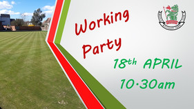 Working Party Needed