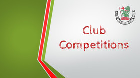 Club Competitions 2021