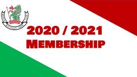 BTBC Membership 2020 and 2021 Seasons