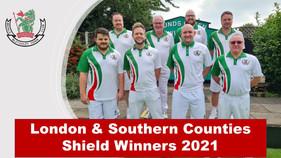 London & Southern Counties Shield Winners 2021