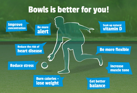 Health Benefits of Playing Bowls