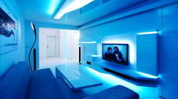 Modern Apartment With Smart LED
