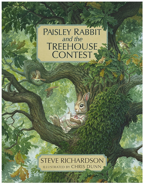 Paisley Rabbit and the Treehouse Contest (Softcover)
