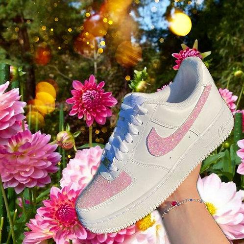 Pink sparkle AF1