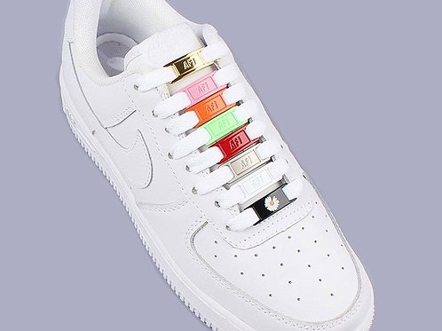 AF1 Air Force Metal Tag for laces