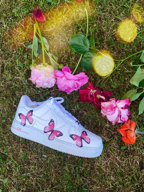 Pink butterfly AF1