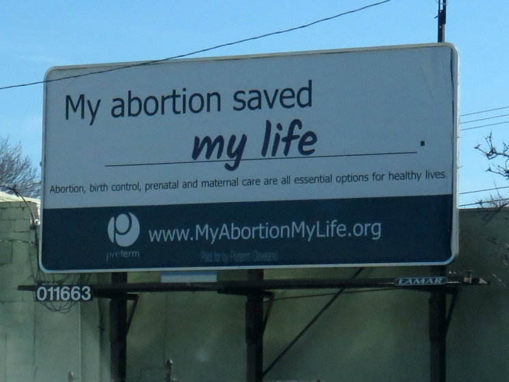 My abortion saved my life.
