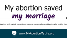 My abortion saved my marriage.