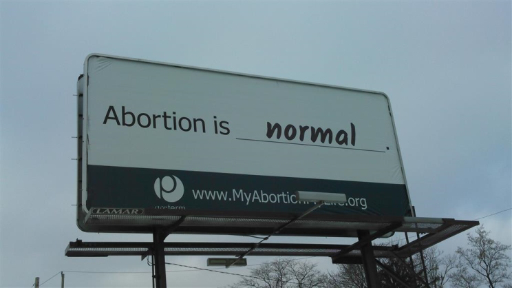 Abortion is normal.