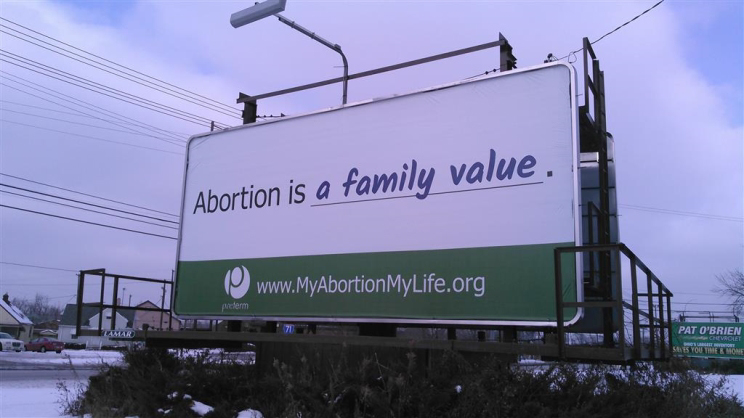 Abortion is a family value.
