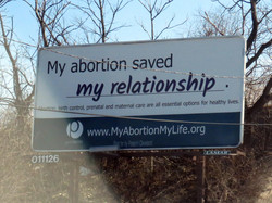 My abortion saved my relationship.