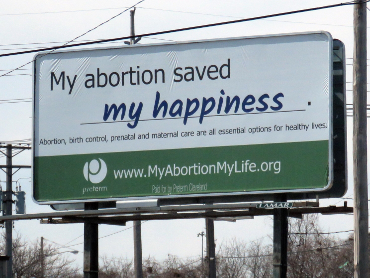 My abortion saved my happiness.