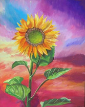 Sunflower Sunset - Lizzie Hamilton