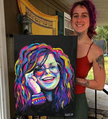 Janis Joplin - Lizzie Hamilton