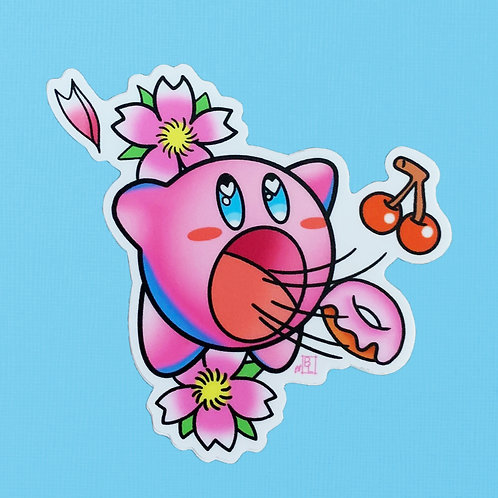 Kirby Feast Sticker