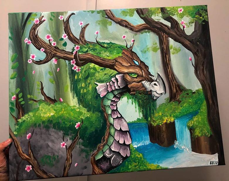 Forest Dragon - Lizzie Hamilton
