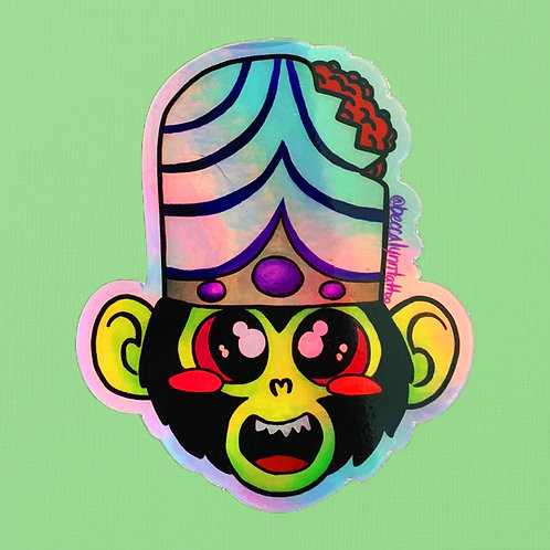 Mojo Jojo Holographic Sticker