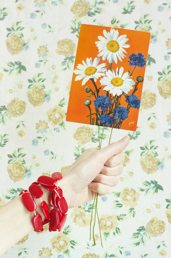 Flower postcards #1