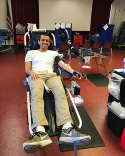 There's a blood drive happening on campus until Thursday! Come to SSC 212 to donate blood and save l