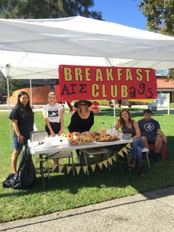 AGS bagel breakfast