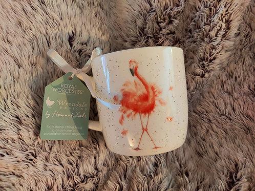 Wrendale Flamingo mug