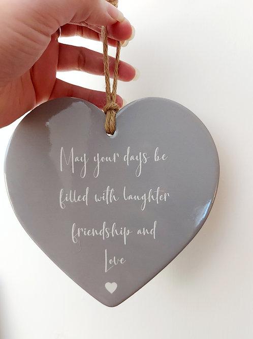 Grey friends heart