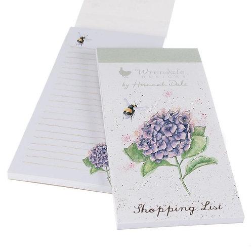 Bee & Hydrangea Wrendale shopping pad