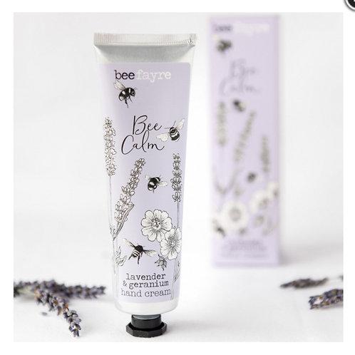 Beefayre Lavender & Geranium Hand Cream 100ml