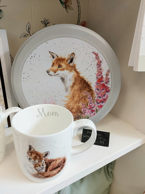 Wrendale Fox Tin
