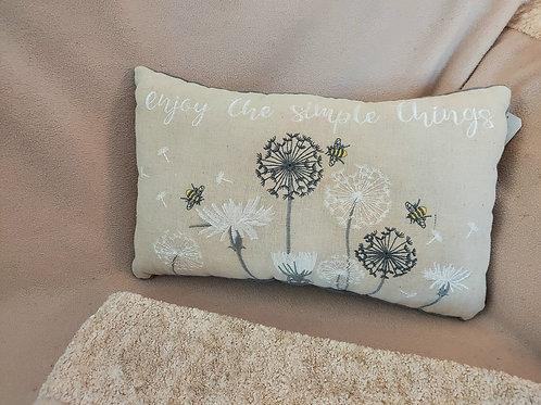Simple things cushion