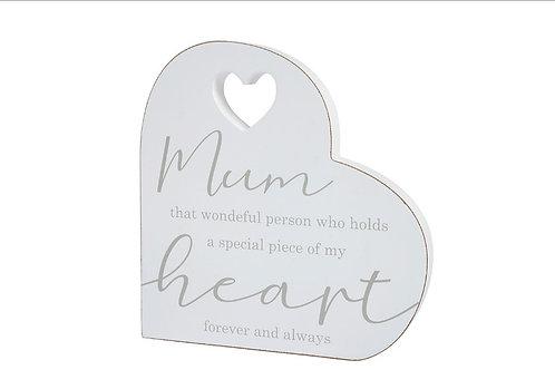 Standing Mum Heart