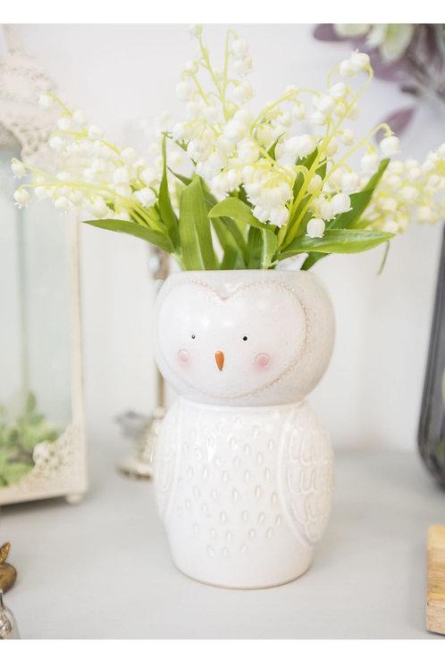 Olivia the Owl vase