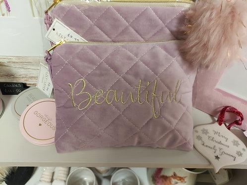 Beautiful cosmetic bag