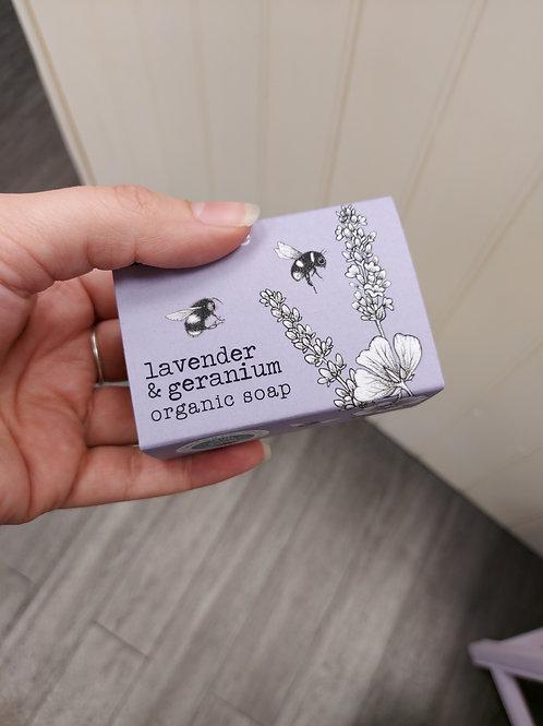 Lavender & Geranium Organic Soap