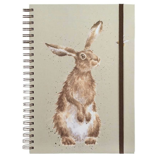 A4 hare & bee notebook