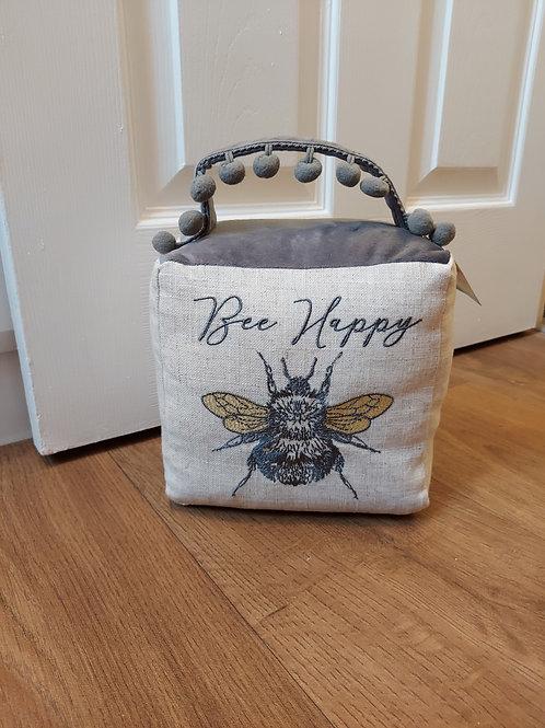 Bee Happy Doorstop
